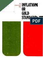 Inflation or Gold Standard