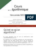 Cours Algorithmique GECSI 1 1