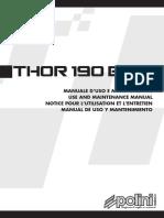 Thor 190 Manual