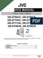 Jvc  GR-D750US