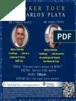 Invitacio´n Speaker Tour Dr. Carlos Plata LIIINK