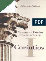 Comentário - Corintios [1] - Antonio Gilberto