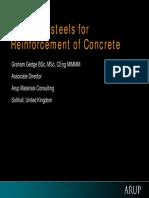graham - steels for reinforcement of concrete