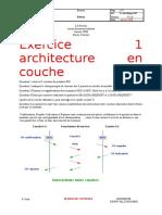 Exercice 1 architecture en couche