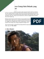 10 Drama Korea Genap Satu Dekade Yang Tetap Berkesan