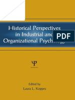 Historical Perspectives in Industrial and Organizational Psychology by Laura Leigh Koppes, Eduardo Salas, Paul W. Thayer, Andrew J. Vinchur (eds.) (z-lib.org)