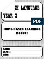 HOME-BASED LEARNING YEAR 3 MODULE
