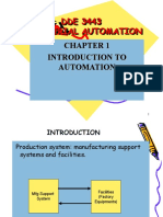 CHAPTER 1 - INTRODUCTION  TO AUTOMATION