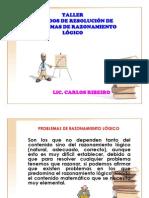 TALLER RAZONAMIENTO LOGICO