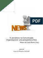 Jornalismo Na Comunicação Organizacional Livro