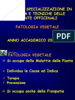 Patologia vegetale generale farmacia