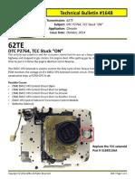 DTC P2764 Transmission 62TE