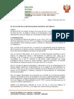 RESOLUCION 018-2021 RECONOCE AGENTE MUNICPAL CONDORCUYO 2O21