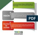 MISIO,VISION Y POLITICA DE CALIDAD