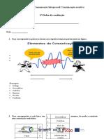 1º. Teste_elementos_comunicação e Comunicação Verbal_não Verbal