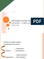 Aula_2_DARLAM_Métodos instrumentais de Analise – Curva Analítica