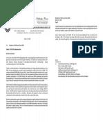 UAW letter