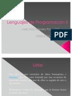 expo lenguajes II list y recursividad