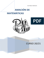 Programacion 20_21 MATEMÁTICAS