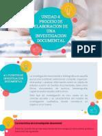 Unidad 4. Fundamentos de Investigacion