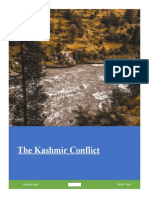The Kashmir Conflict  and it's various dimensions