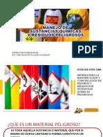 SUSTANCIAS PELIGROSAS 2020