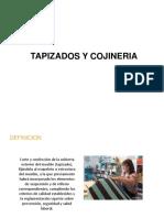 TAPIZADOS Y COJINERIAS
