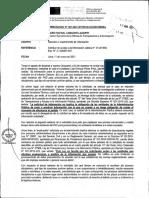Memorando N° 041-2021.- ST del MINSA