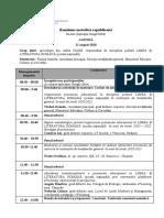 Agenda_ Reuniune Metodica Limba Şi Literatura Romănă (Şc.nat)