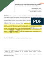 XPROPOSTA DE UMA METODOLOGIA PARA O CONTROLE TECNOLÓGICO DO CONCRETO
