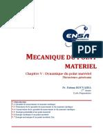 00- Mécanique Du Point Matériel CH5