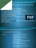 Etapas Del Aprendizaje. Fase 1 y 2. Power de La Catedra Futbol 2019