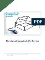 Manual de Implementacao Do Web Service Sigep Web