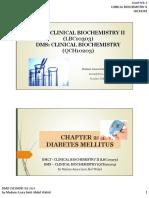 02. Diabetes Mellitus. LBC10303 - FEB19