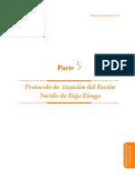Protocolo de atencion del Recien Nacido de Bajo Riesgo