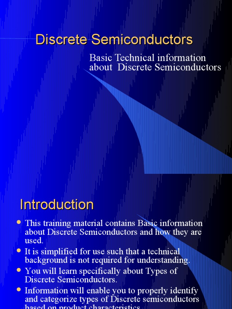 Discretes Semiconductors Field Effect Transistor Bipolar Basic Voltage Regulator Composed Of Zener Diode Othercircuit Junction
