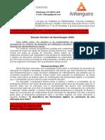 1º SEMESTRE PEDAGOGIA 2021 - Os Desafios e as Possibilidades Do Uso Das Ferramentas Tecnológicas No Contexto Da Pandemia Em Instituições Escolares.