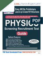 Physics MCQs PDF Book (EasyMCQs.com)