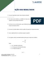 LABORATORIO DE MATEMATICA E FISICA - MOVIMENTO RETILÍNEO UNIFORME - MRU - Relatório - Unid 1