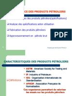 CONNAISSANCES DES PRODUITS PETROLIERS-1