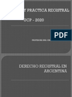 Derecho Registral en Argentina, escribania