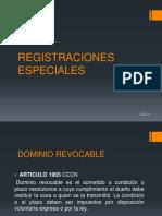 Dominio REVOCABLE. escribania