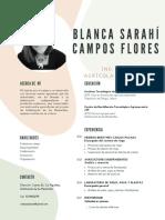 Curriculum-Sarahí Campos Flores