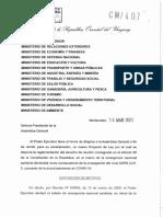 Reglamentación del derecho de reunión - 16-03-2021