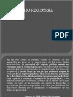Derecho Registral. Escribania clase 1 -2020