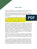 Tipeo Maximo Derechos Reales ,Prof Pedro Hidalgo (2020)