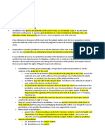 Civ Pro Jurisdiction Concept