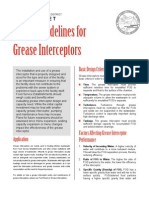 14-FS Design Guidelines for Grease Interceptors