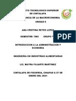 Importancia de la macroeconomia U6