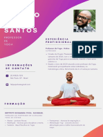 CURRÍCULO DE PROFESSOR DE YOGA - FELIPE PAULINO